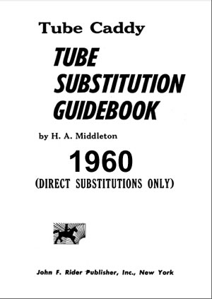 1960 World Tube Substitution Guide